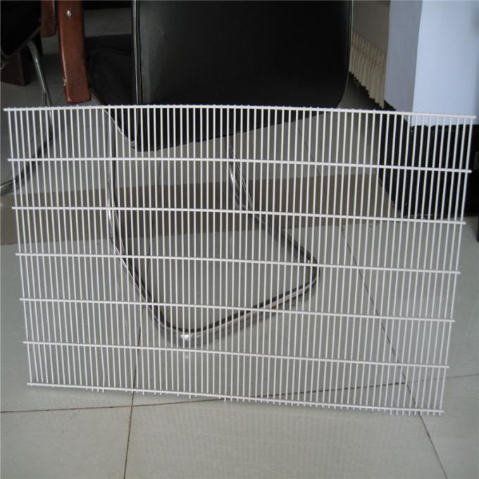 Durable High Security Fence Rustproof For Prison / Airport Easy Maintenance