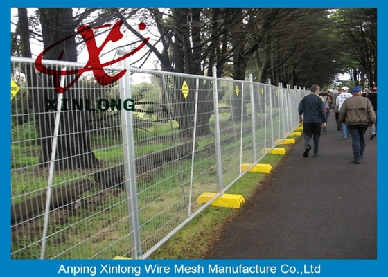 Çin Free Standing Temporary Fencing Panels For Building Site Simple Design Tedarikçi