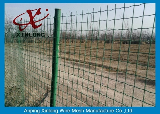 Çin Commercial Horizontal Fence Panels , Holland Wire Mesh PVC Coated Tedarikçi
