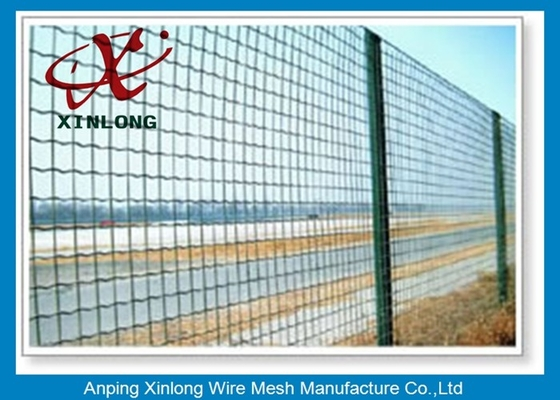 Çin Hot Dipped Galvanized Euro Panel Fencing Corrosion Resistant For Boundary Tedarikçi