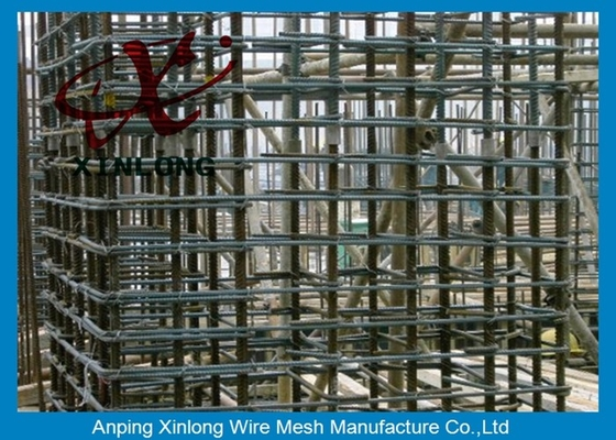 Çin 6Mm Welded Reinforcing Wire Mesh Square / Rectangle Hole Shape XLS-02 Tedarikçi