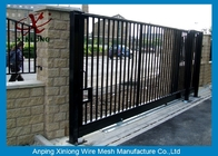 Çin Wrought Iron Automatic Security Gates Commercial For Living Quarter XLF-03 Fabrika