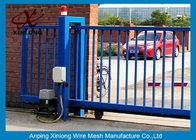 Çin Various Size Residential Sliding Gates , Industrial Sliding Gates Safety Fabrika