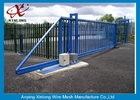 Çin Weather Proof Automatic Fence Gate , Sliding Metal Gates Corrosion Protection Fabrika