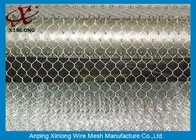 Çin Hot Dipped Galvanized Hexagonal Wire Mesh With Iso90000 / 2008 Certificate Fabrika