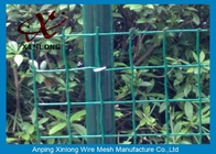 Eco Friendly Euro Panel Fencing Convenient Installation 4x4 5x5 6x6mm