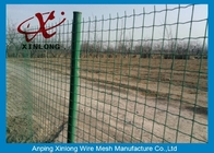 Commercial Horizontal Fence Panels , Holland Wire Mesh PVC Coated