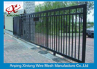 Çin Professional Automatic Sliding Gates Galvanized Pipe Material 1m Height şirket